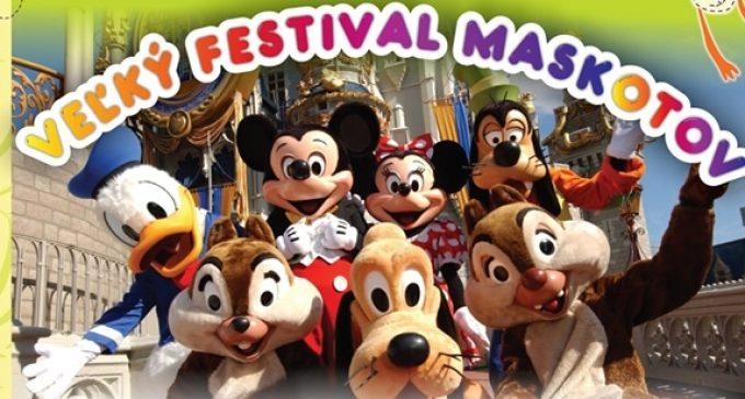 Veľký festival maskotov zabaví malých aj veľkých