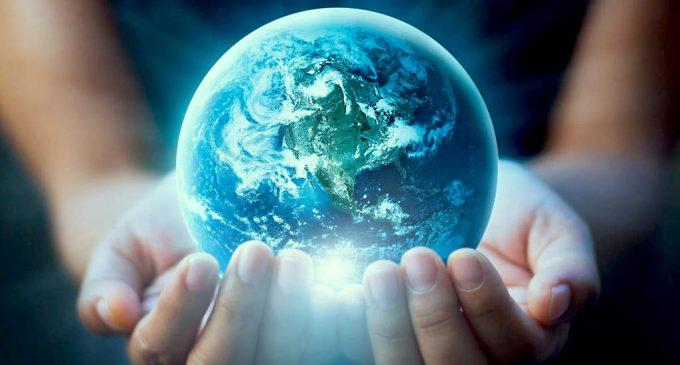 Báseň: Ukrižovaná matka Zem