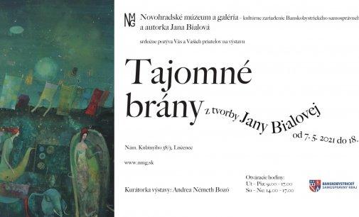 Lučenec: Príďte na výstavu Jany Bialovej – Tajomné brány