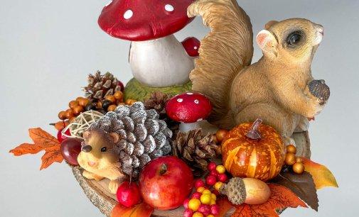 Jesenné dekorácie ako z rozprávky